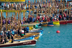World gig rowing championship.