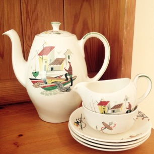 Lovely coffee pot set found at a car boot last year.